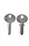 Pre cut Keys for Kason Door Handles - Select Key Number