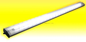 "33"" LED Light Fixture by Thin-Lite Low Profile Lens Ceiling or Undershelf"